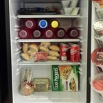 Could fit a lot in this fridge!!
