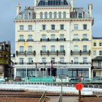 Mercure Brighton Seafront Hotel from Brighton Beach