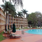 Lugogo Sun Hotel swimming pool area