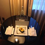 Anniversary surprise from the hotel