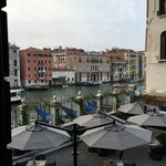 View of garden and grand canal from Room 8