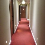 The hotel is just a long corridor on the ground floor!(penthouses-6th)