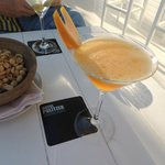 The Maratini Cocktail at the Sky Bar