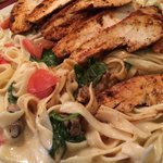 Blackened Chicken Florentine