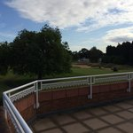View from bedroom balcony of the 18th green
