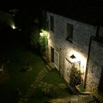 cortile interno by night