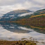Loch Long is calm.