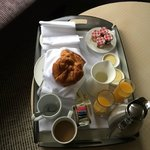 the continental breakfast!