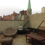Roof Top patio view