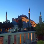 View of Hagia Sophia from 4seasons roof