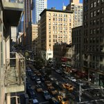 Balcony view of Park Ave