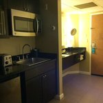 The kitchenette (didn't use) with vanity