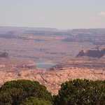 View of Lake Powell from near Star Springs on Henry Mountains