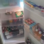 Fully stocked fridge awaits you