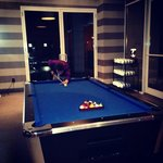 pool table by pool