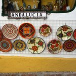 pottery stall