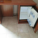 small but functional refrigerator