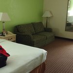 Typical Motel 6 interior