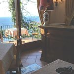 View feom the dining room