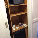 Mini Bar and Code operated safe (complimentary)