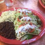 taco plate (special of the day)