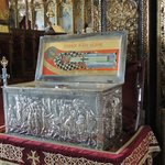 Relics of St Lazarus found underneath the church
