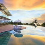 Sunset view at Sheraton Bali Kuta Resort