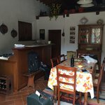 Concimaia living room and kitchen area