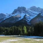 Canmore Off Lease Dog Park view