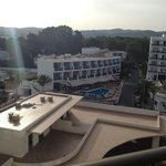 View from balcony -  front of hotel