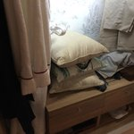 Cushions take all the space in the closet