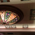 Strater Dining Room ceiling