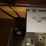 Tethered cable/holiday inn room card