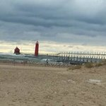 Grand Haven Pier and Lighthouse