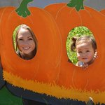 Me and my daughter at the pumpkin patch (2014).