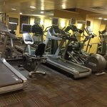 Fitness room at the Lenox Hotel