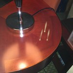 table marks are common in rooms