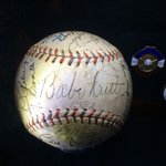 Signed by Babe Ruth