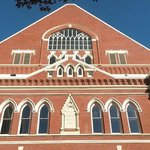 Ryman Theater right next door
