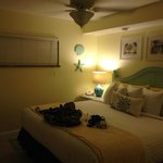 Our room: Tastefully decorated rooms