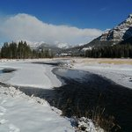 Yellowstone's Absaroka Lodge照片