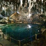 The nearby Hinagdanan Cave, entrance fee is 100 pesos if you planning to take a dip
