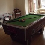 Pool table for guests