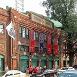 The front of the Fenway Park facing the Yawkey Way