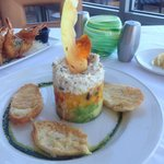 Crab-Mango-Avocado Stack