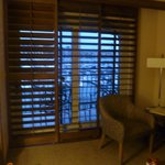 Pretty wood blinds but made room darker
