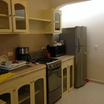 Kitchen Area of Bungalow