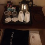 Amenities in room