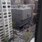 The Whitney view from our room