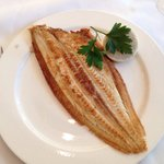 Dover sole on the bone £32